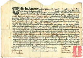 Hitchin indenture 1673 | Hertfordshire Archives and Local Studies