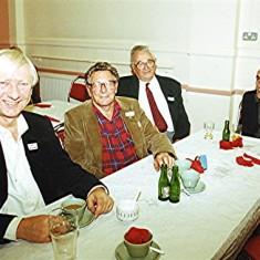 Left to right: Alan Paynter, John Boden, Les Smith, Bob Crawley. | Geoff Webb