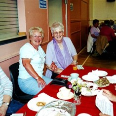 Left to right: Mary Pease, Betty Hawkins, Rose Maguire, Maude Henry. | Geoff Webb