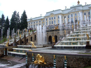 The Peterhof Cascade | Smack.Licensed under creative commons