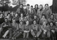 WOMEN'S LAND ARMY - during WW2