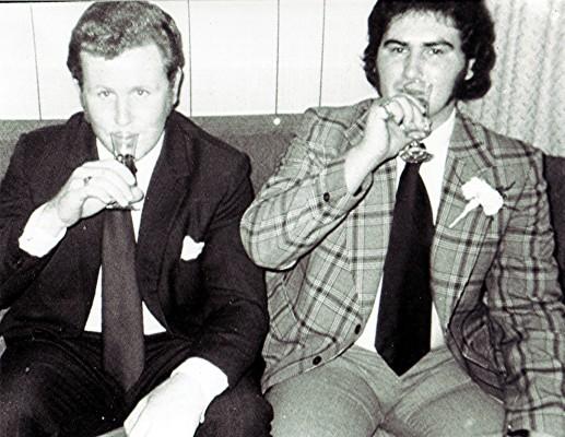 Brian Pidgeon (left) and Bill Lee | Geoff Webb