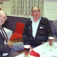 Left to right: John Pidgeon, Mo and Frank Smith | Geoff Webb