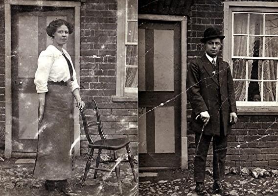 Mary & Dick Pidgeon   Geoff Webb
