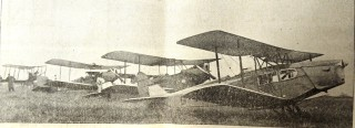Some of the planes taking part in the Air Pagent | Herts and Essex Observer May 1933, page 10