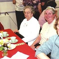 Left to right: Mollie Powell, Beryl Burchmore, Shirley Bewley, Lily Porter. | Geoff Webb