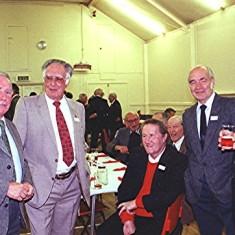 Left to right: Francis O'Hara, Bill Price, Doug Robinson, Brian Males, Dick Dalton | Geoff Webb