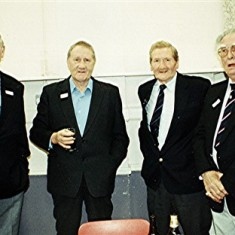 Left to right: Richard Robertson, Doug and Aubrey Robinson, Bill Price, Peter Vinsen. | Geoff Webb