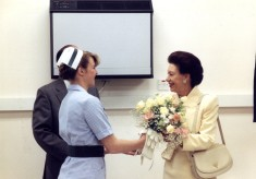 Princess Margaret visits Hertford County Hospital