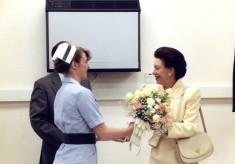 Princess Margaret visits Hertford County Hospital
