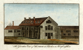 Image of Hitchin Priory. Gerish collection | Copyright Hertfordshire Archives and Local Studies