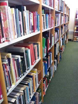 Variety of books in the Archive Library