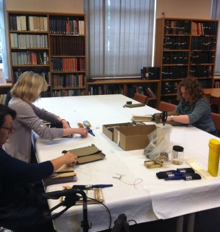 The Volunteers for the Archive Cleaning Project