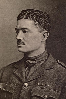 Julian Grenfell in uniform with his DSO ribbon