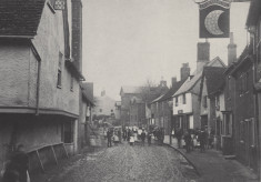 Slum housing in Hitchin, 1850s - 1930s