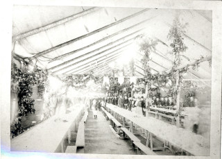 Inside the marquee | Hoddesdon Library local studies collection