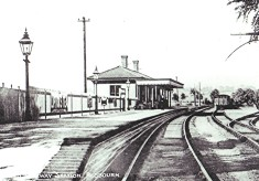 The Redbourn Railway Station