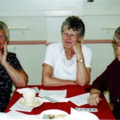 The Reading sisters, left to right: Jean, Margaret and Iris. | Geoff Webb