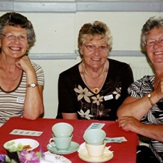 The Reading sisters (left to right): Margaret, Iris and Jean. | Geoff Webb