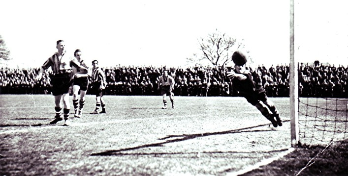Bingham Cox Cup Final at Clarence Park, St. Albans 1955 | Geoff Webb