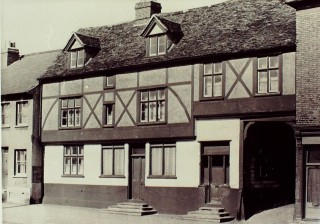 The Former Red Lion in 1957 | Hertfordshire Archives & Local Studies