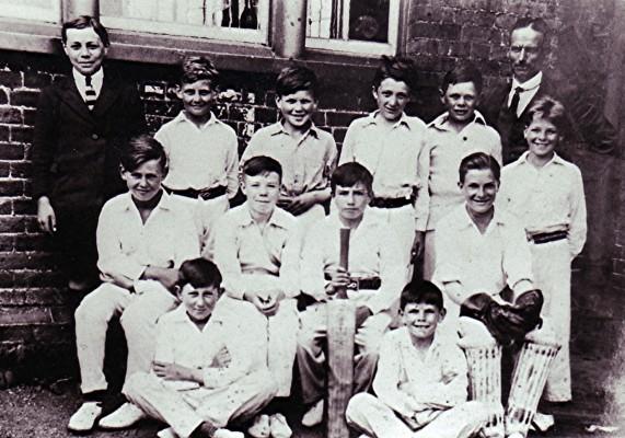 Boys School Cricket Team | Geoff Webb
