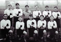 Boys School Football Team 1933