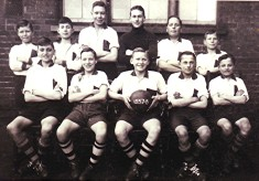 Boys School Football Team 1937/38