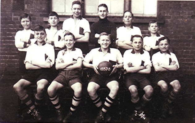 Boys School Football Team 1937/38 | Geoff Webb