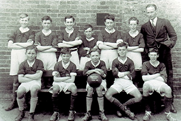 Boys School Football Team | Geoff Webb