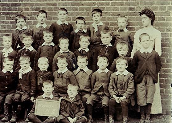 Boys School class, c.1905 | Geoff Webb