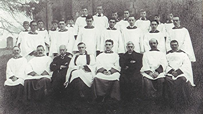 St Mary's Church Choir   Geoff Webb