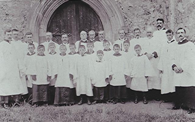 St. Mary's Church Choir, 1907