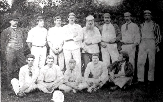 The Cricket Club team c.1890 | Geoff Webb