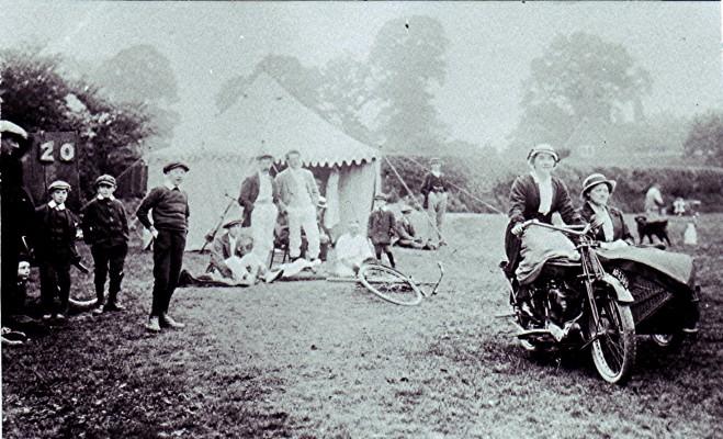 Redbourn Cricket Club's first pavilion | Geoff Webb