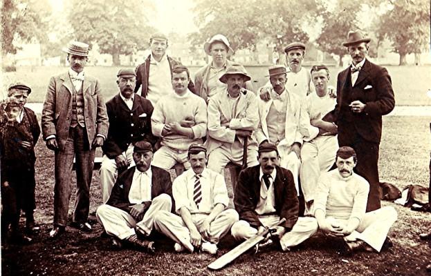 The Cricket Club team c.1916 | Geoff Webb
