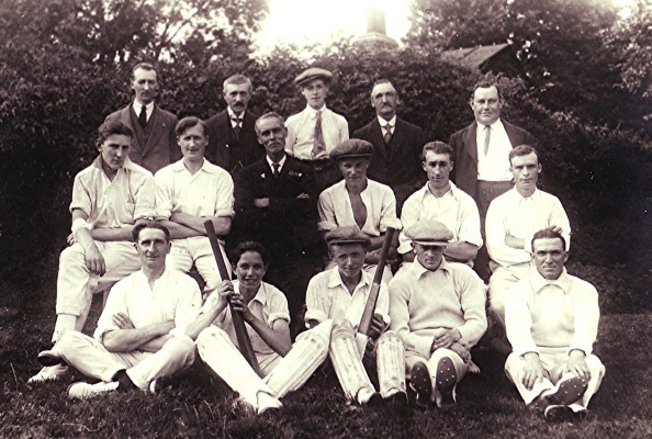 The Cricket Club Team c.1927 | Geoff Webb