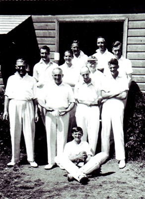 The Redbourn Cricket Club Team c.1942 | Geoff Webb