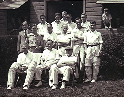 The Cricket Club Team c.1944 | Geoff Webb