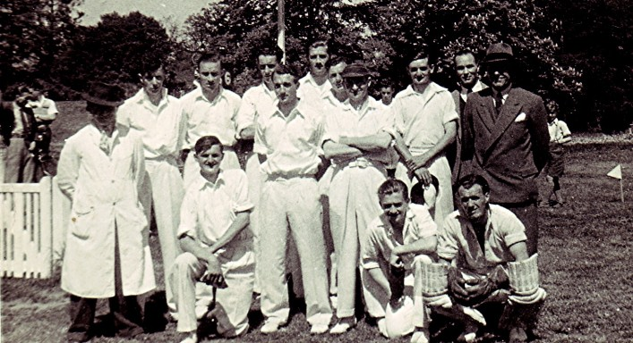 The Redbourn Cricket Club Team c.1947 | Geoff Webb