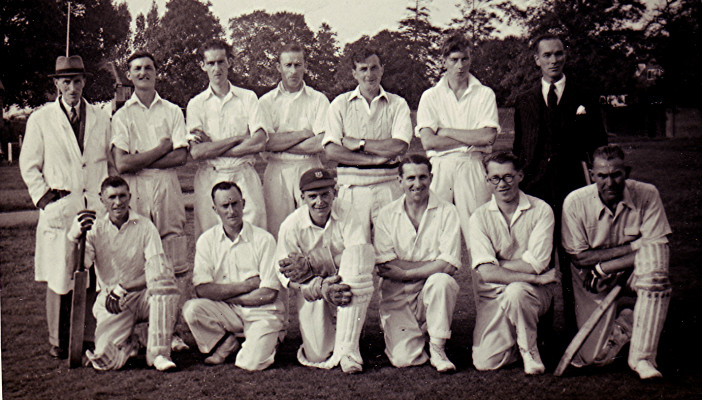 The Cricket Club Team c.1947 | Geoff Webb