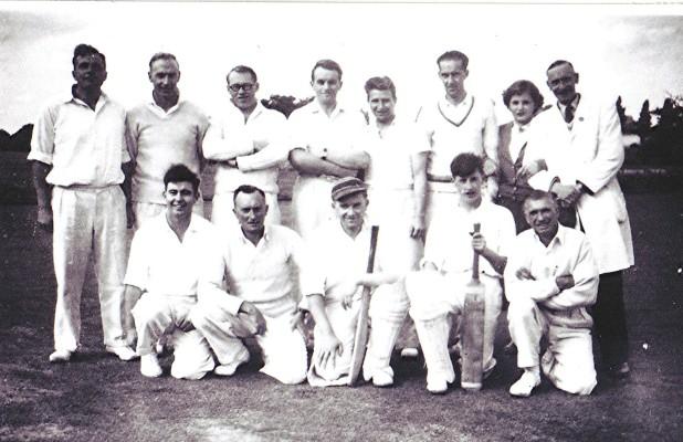 Cricket Club | Geoff Webb
