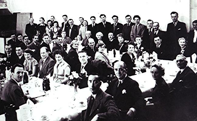 Club Dinner at the Village Hall, c. 1955 | Geoff Webb