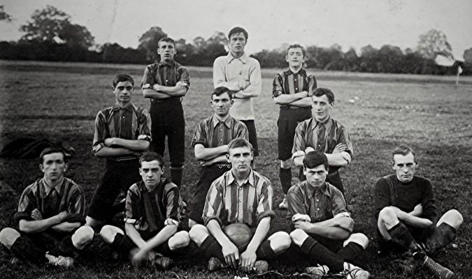 Redbourn Football Club Team | Geoff Webb