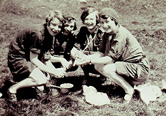 Girls Guide Camp   Geoff Webb