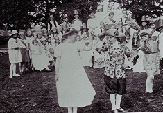 Girls School, Empire Day 1924