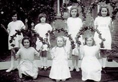 Girls School May Day celebration