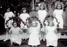 Girls School May Day celebration
