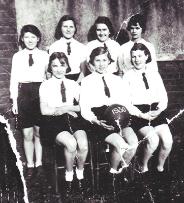 Girls School Netball Team, 1936 | Geoff Webb