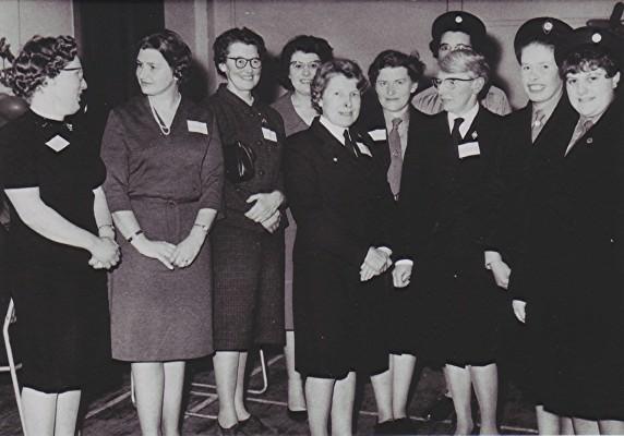 Girl Guides 50th Anniversary   Geoff Webb